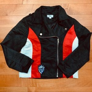 D-signed by Disney girl's biker style jacket sz S